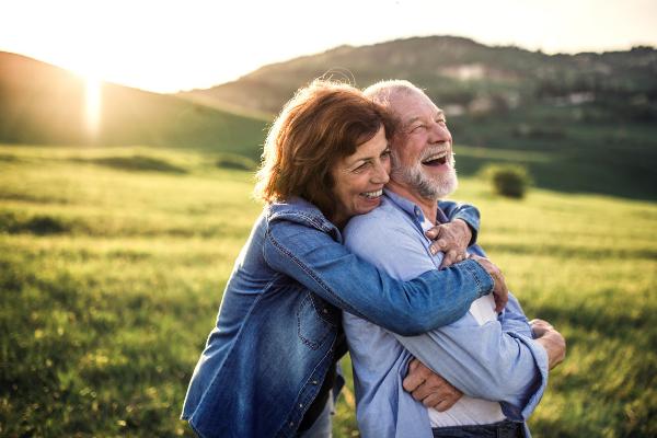 Retiring couple