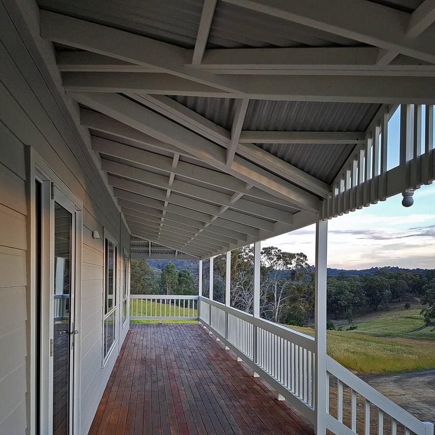 Swanbuild modular home outdoor verandah