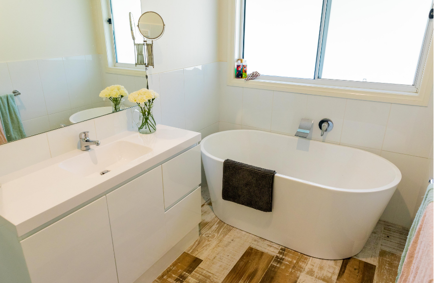 Swanbuild modular country bathroom