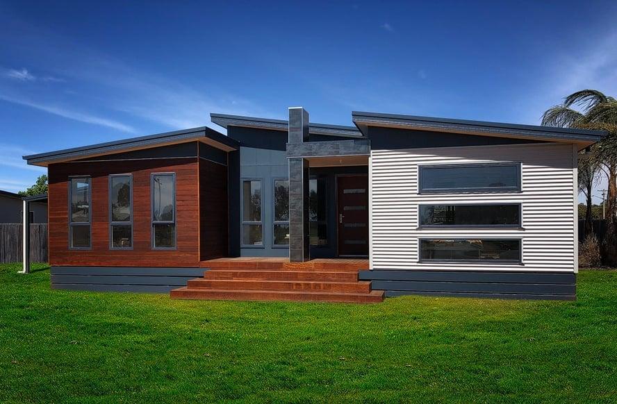 Swanbuild modular home exterior