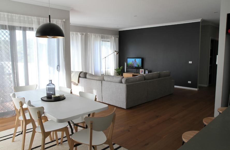 Swanbuild home living dining area interior
