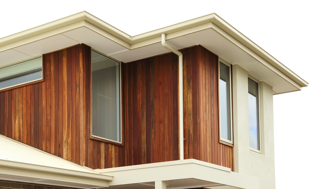 Timber clad home